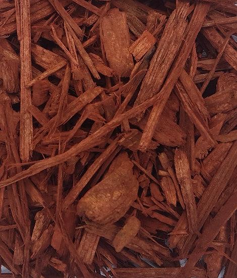 Coloured Bark red