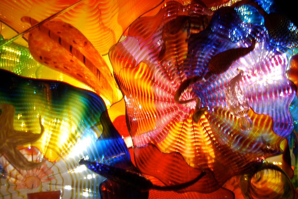 Detail, Chihuly Garden and Glass, Seattle