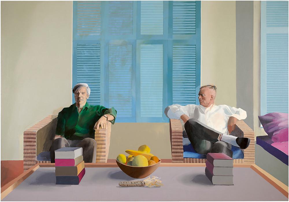 Hockney, Isherwood and Bachardy