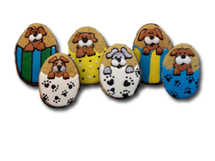 EASTER EGG PUPPIES