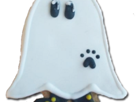 HALLOWEEN GHOST WITH BOOTS