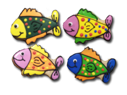LITTLE COLORFUL FISHIES