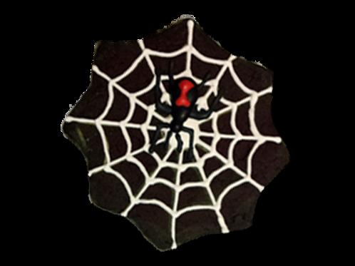 HALLOWEEN SPIDER WEB W/SPIDER
