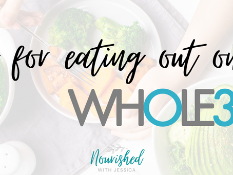 Tips for Eating out on Whole30