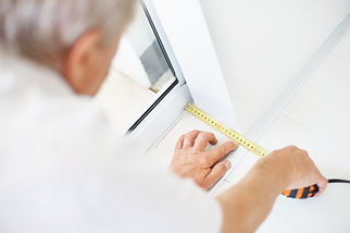 Measuring Our Secure Handicap Doors in Burlington, ON