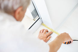 Measuring tape to measure for kitchen cabinets