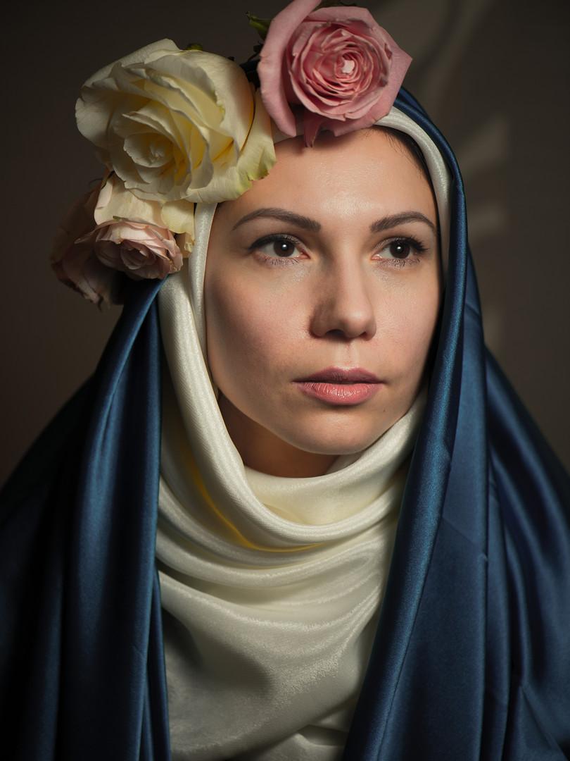 Наталья в образе Святой Розы