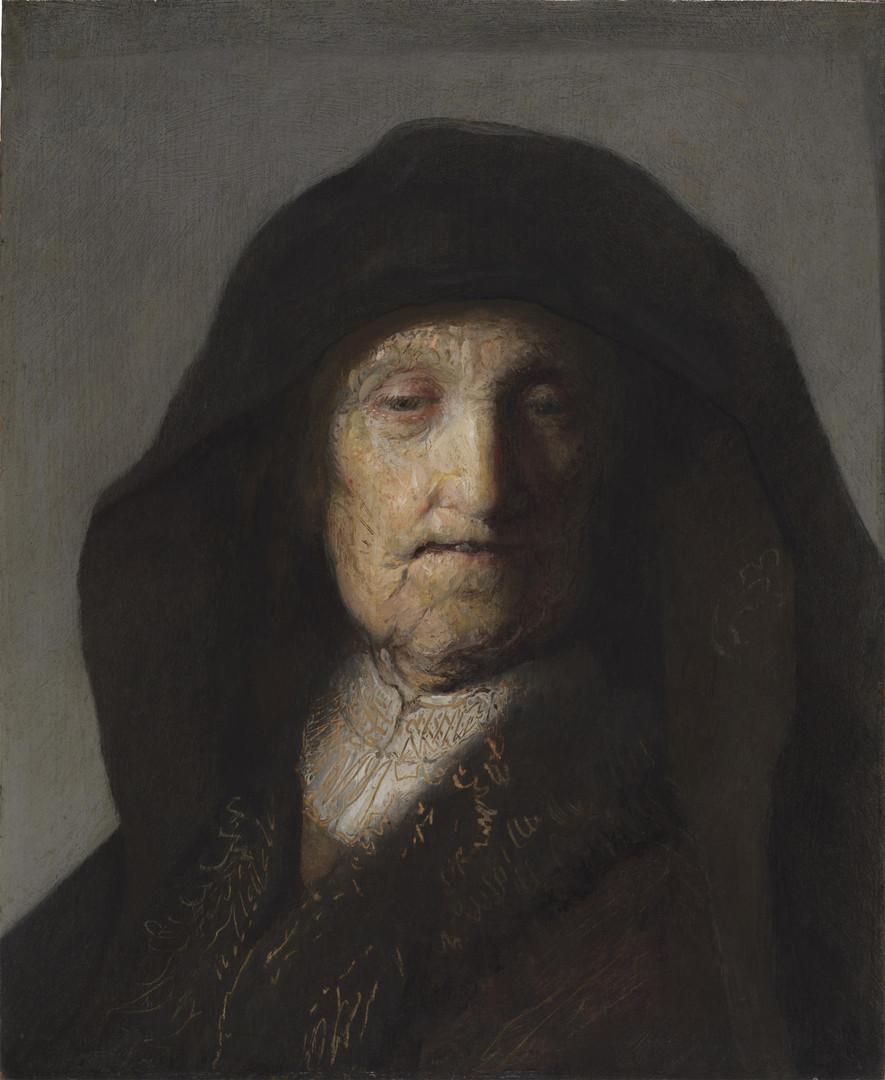 Портрет матери. Рембрандт.