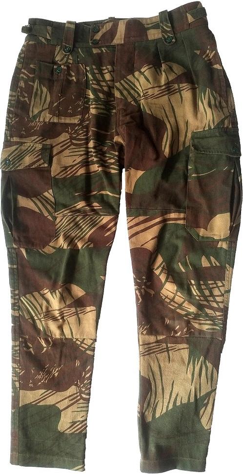 Rhodesian Brushstroke Pants Camo Green Leader Llc