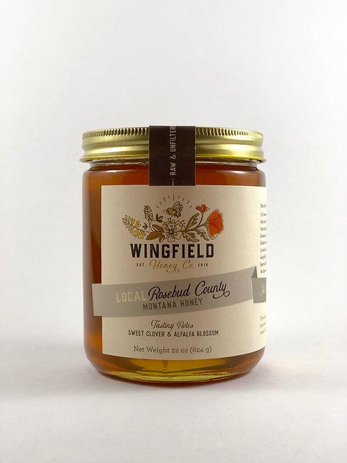 Montana Yellow Sweet Clover Honey 22oz.