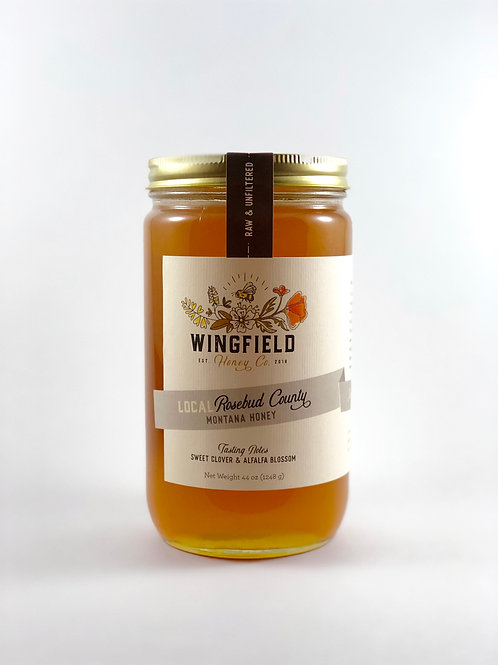 Montana Yellow Sweet Clover Honey 44oz.