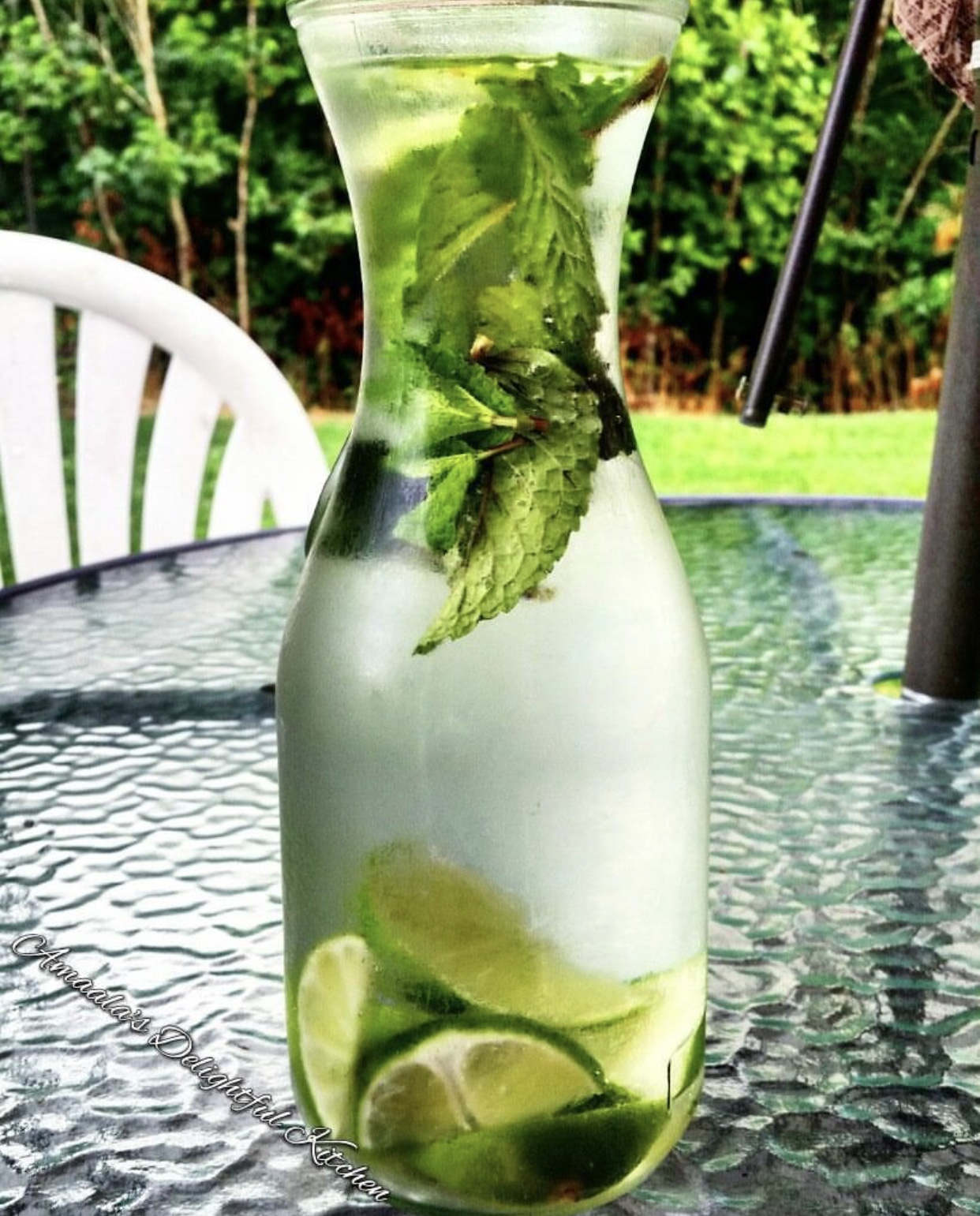 Iced Mint Water
