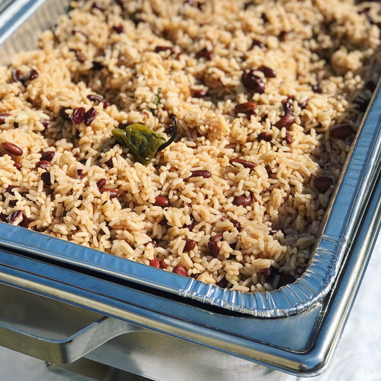 Coconut Rice & Peas