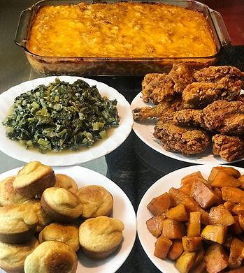 Soul Food Spread.JPG
