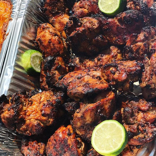 Grilled Jerk Chicken _#caterer #catering
