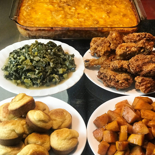 Soul Food Spread.JPG