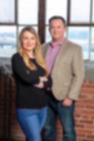Founders Bethany Robinson and John Galligan
