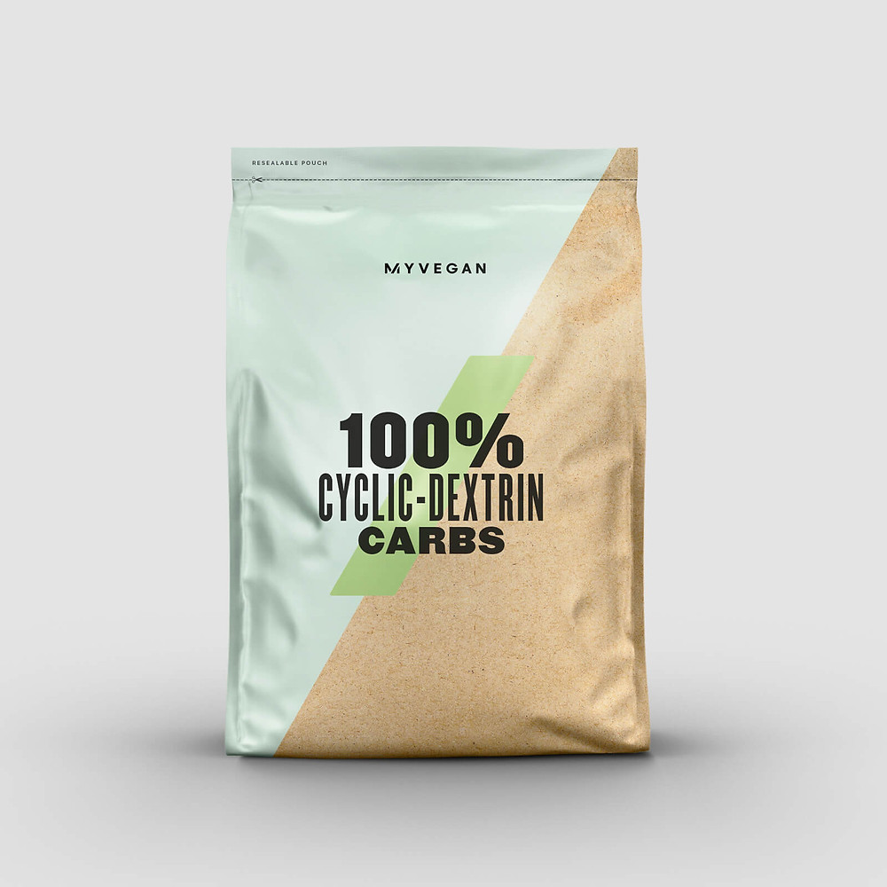 This is an image of a carbohydrate supplement by the brand MyProtein which really helps people who are having difficulty gaining weight and muscle