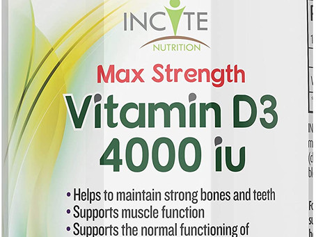 Increase Your Vitamin D3 Intake With the Best Selling Vitamin D3 Supplement!!