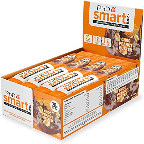 This is an image of Phd smart bars by the brand PhD which specialises in Nutritional supplements and products