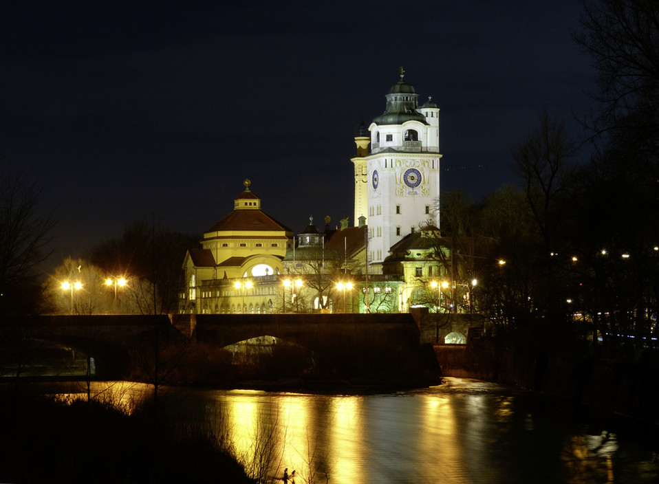 architecture-night-building-chateau-rive