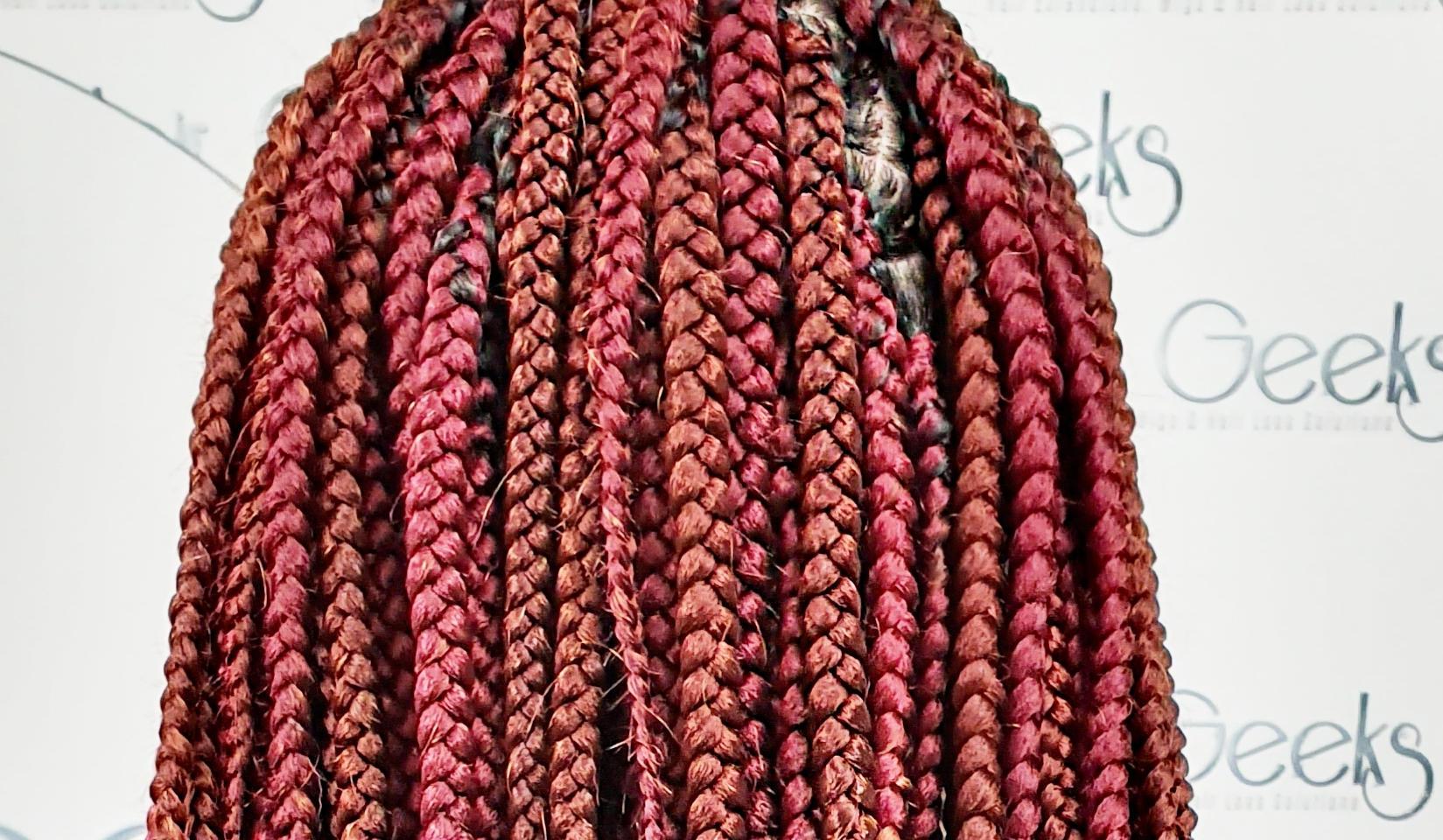 hair geeks box braids