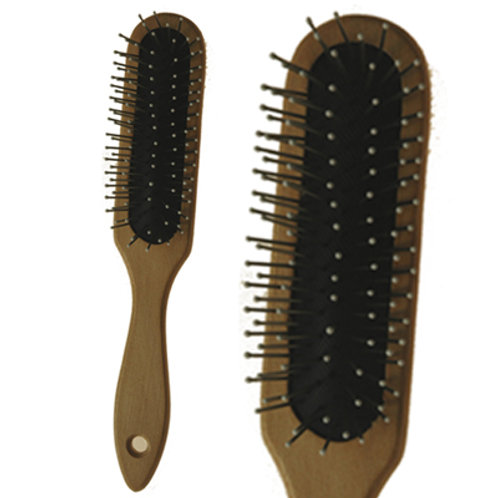Wooden Wig Brush