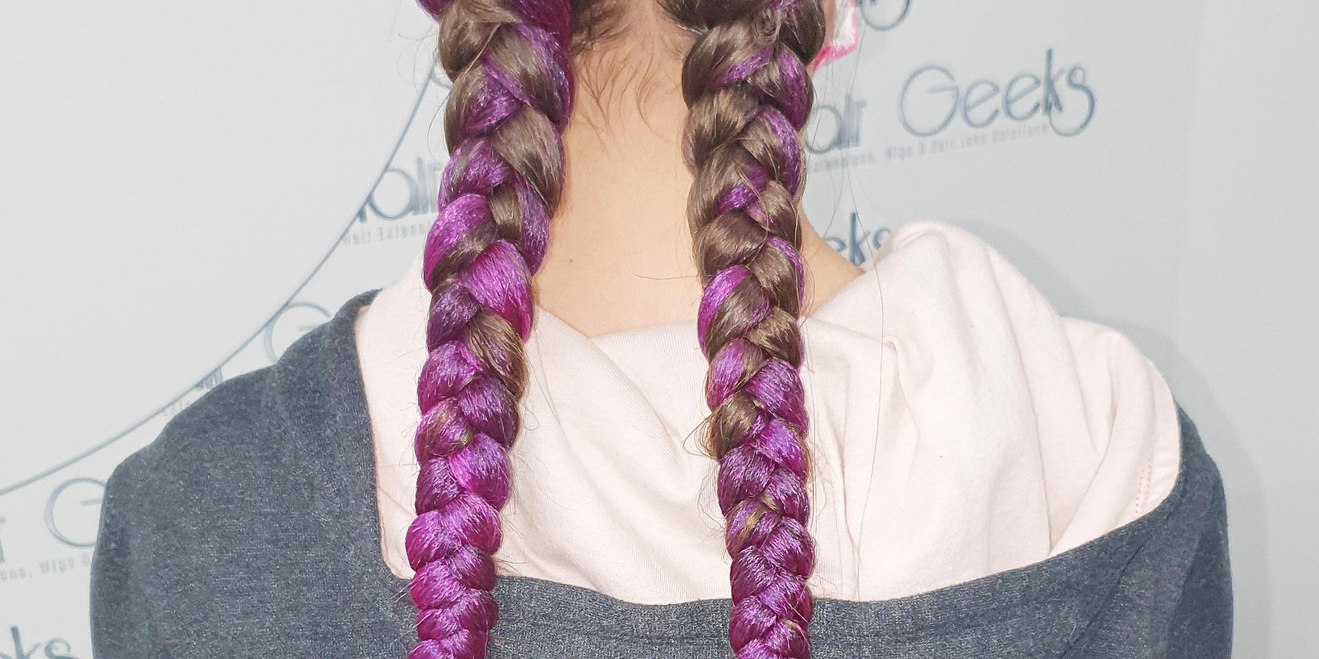 Hair Geeks Dutch braids