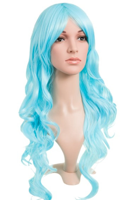 Colour Party Curly Long Wig
