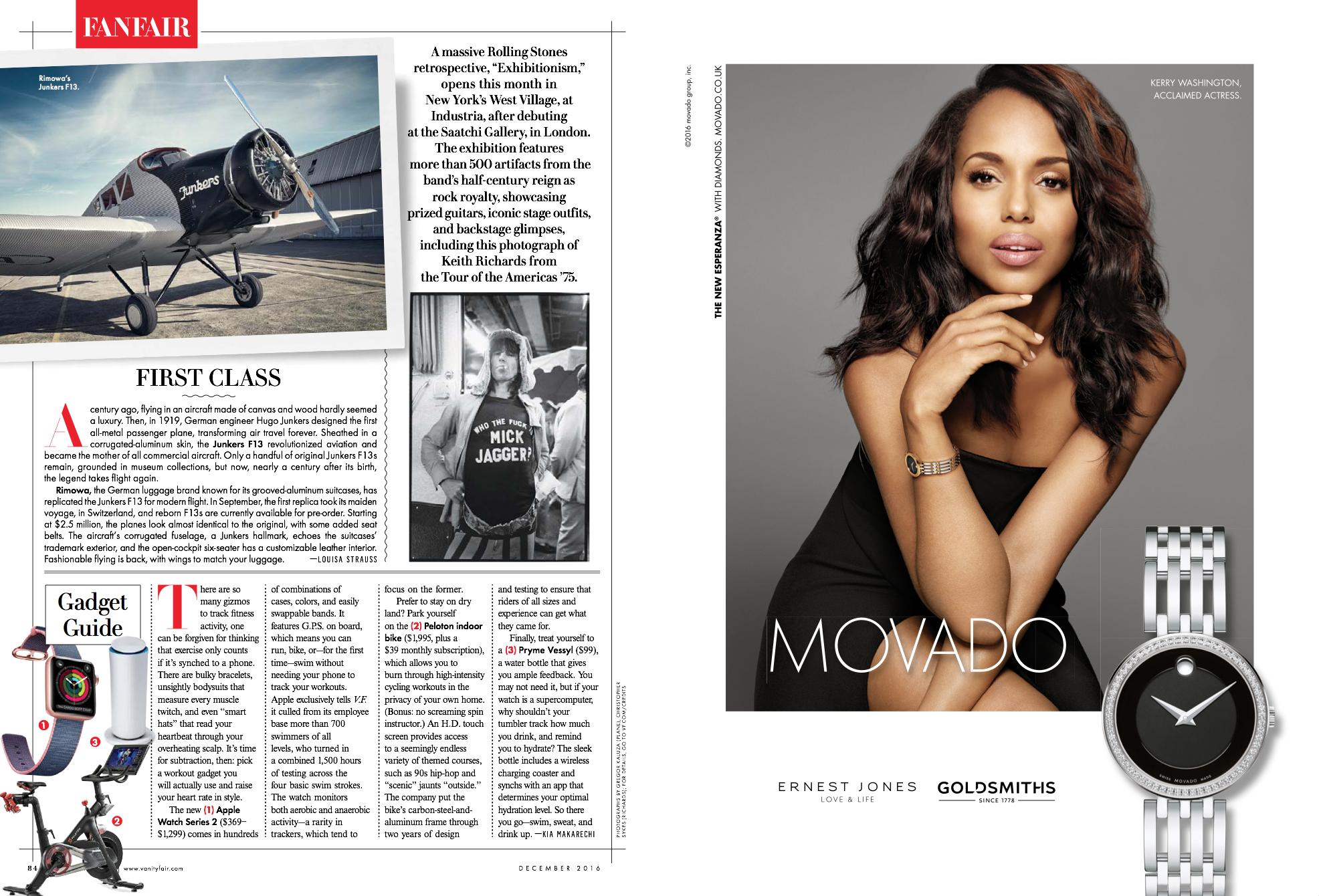 Magazines for Movado