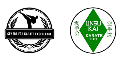 Centre for Karate Excellence and Unsu Kai Karate logos