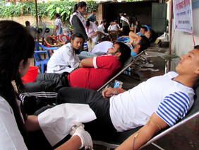 Blood Donation attracts local communities