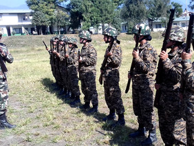 NCC participates in Firing Training