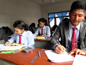 First-Term EXAM concludes successfully; Happy Dashain to all