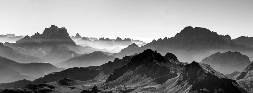 Landscape from Sass Pordoi