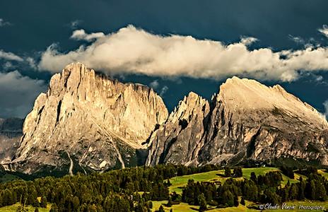 Dolomites after thunderstorm