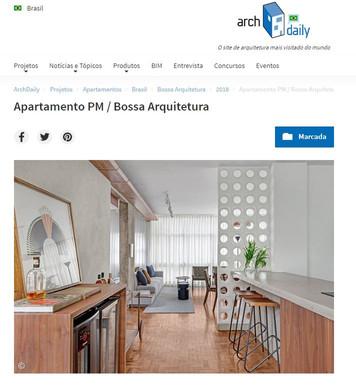 ArchDaily Apartamento  Projeto PM