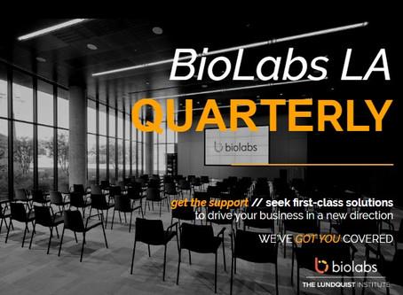 BioLabs LA Fall Quarterly