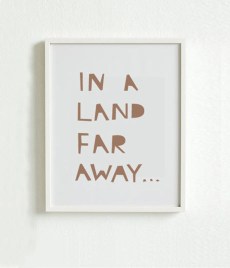 Far Away Land Poster 2