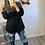 Thumbnail: Veste robe Bi-matière