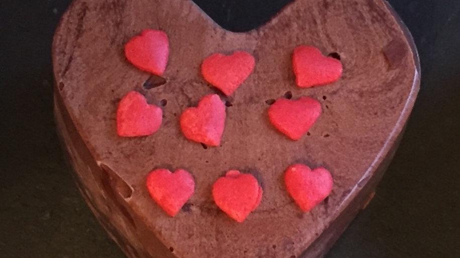 Large Chocolate Heart (Ve)