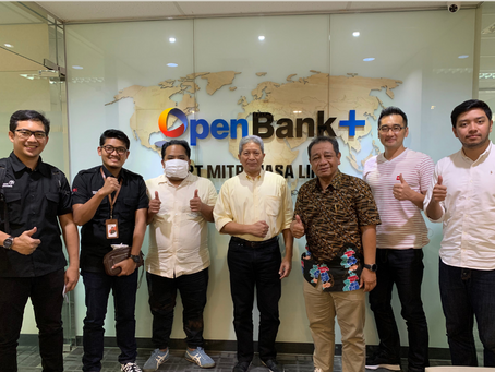 MOU Business Strategic Partnership with Finnet Indonesia