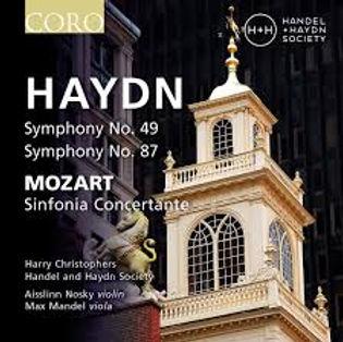 Haydn Mozart Sinfonia Concertante