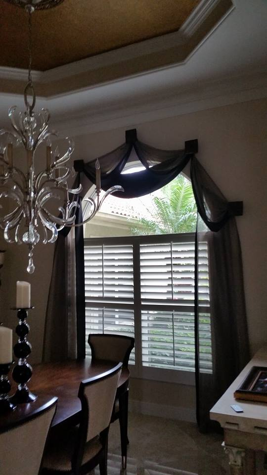 Medallion Valance Sheer