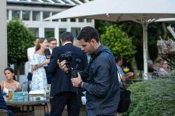 Will Evans filming wedding