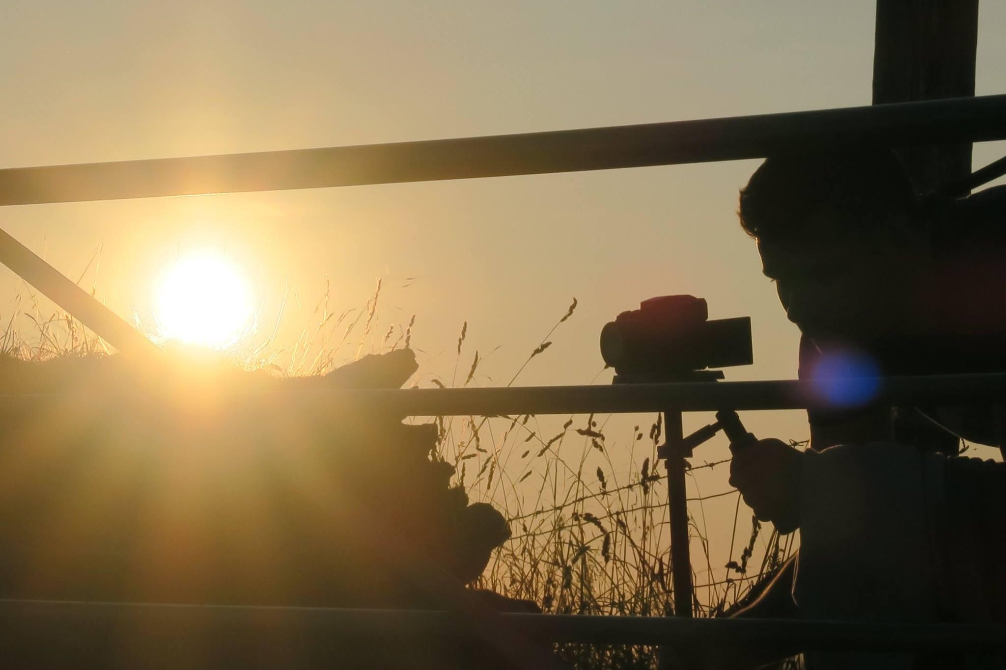 Sunset Filming