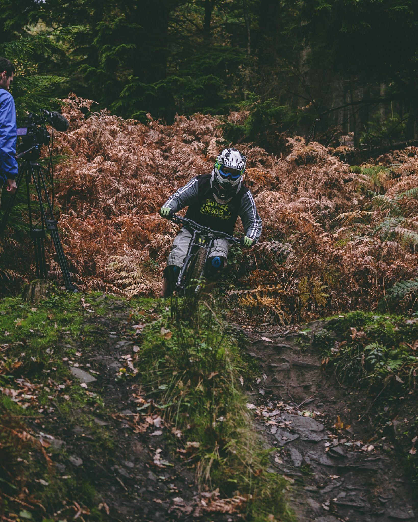 Lewis Jones Mountain Biker