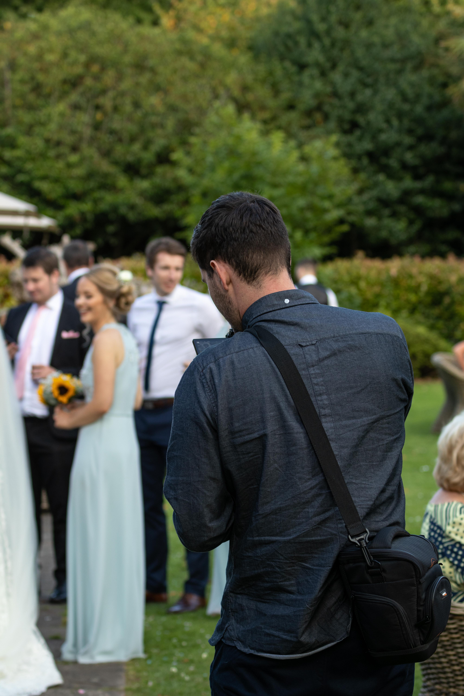 Wedding behind the scenes