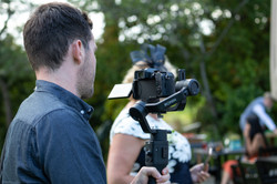 Filming Behind the scenes