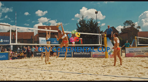 CEV Beach Volleyball Continental Cup - England Women's Highlights
